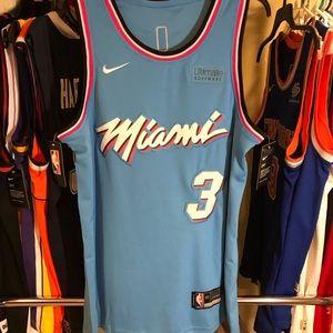 🔥 Miami Heat Wade NBA Vice City Edition Jersey